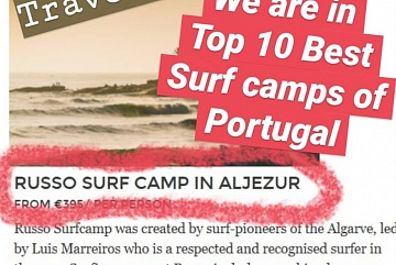 We are in TOP 10 Surf camps
